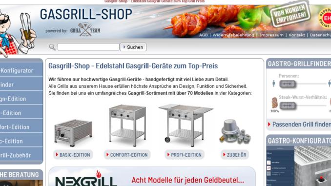 gasgrill-shop.com startseite